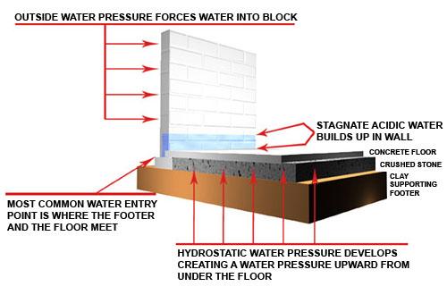 do basements foundations leak water how to waterproof a basement